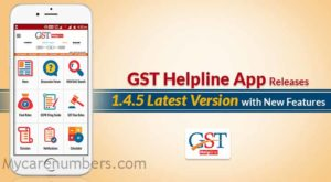 GST registration helpline number