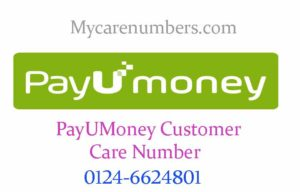 payumoney customer care toll free number