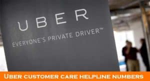 How to Contact Uber Customer Care Services | Helpline Numbers