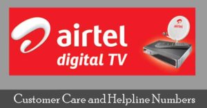 Airtel DTH Customer Care Number | Airtel Digital TV (Customer Care)