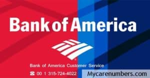 Bank of America Customer Service Number and 24*7 Helpline Numbers