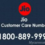 JIO Customer Care No – Reliance Jio Toll Free Number (Contact Us)