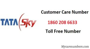 tata sky customer care number