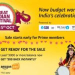 Amazon Great Indian Festival Sale 2018 Deals and Offers at One Place