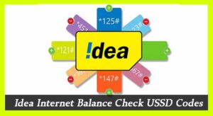 Idea Internet Balance Check USSD Codes 2019 | Offers | Loan