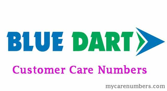 Blue Dart Customer Care Number