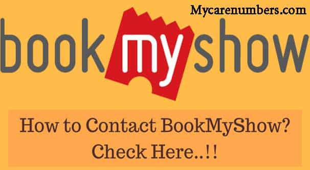 BookMyShow Customer Care Number