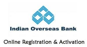 IOB Internet Banking Registration