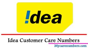 Idea Customer Care Number [ Prepaid & Postpaid Toll Free Numbers & Helpline]