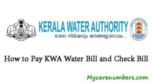 Kerala water authority bill Payment | How to pay KWA Water bill and check bill