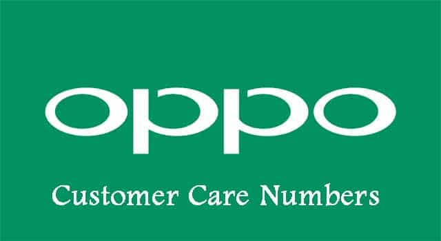 Oppo Customer Care