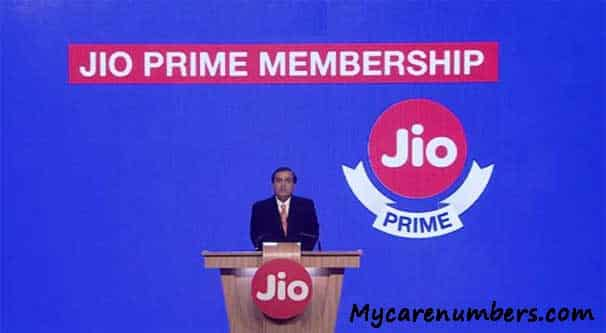 Reliance Jio Prime Subscription Renewal