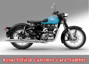 Royal Enfield Customer Care Number and Toll Free Numbers