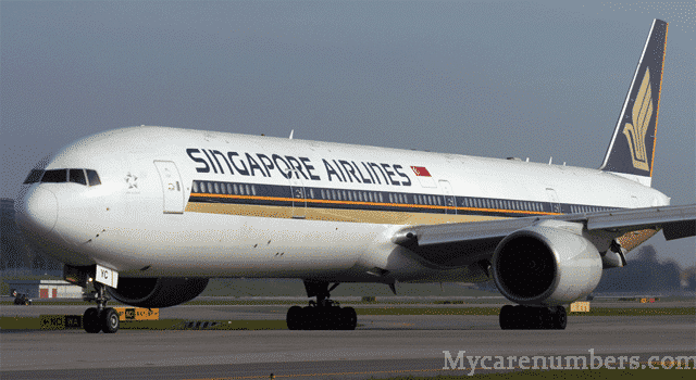 Singapore Airlines Australia Contact Number and Helpline Numbers
