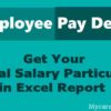 Online Employee Pay Slips /Salary Certificate for TS Employees 2019