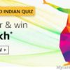 Amazon Grand Indian Quiz Answers Today Win – ₹1 Lakh