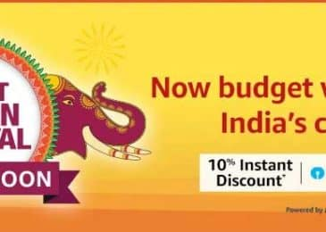 Amazon Great Indian Festival Sale 2019 Deals and Offers at One Place
